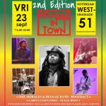 Reggae in Town omarmd Reggae en Wereldmuziek